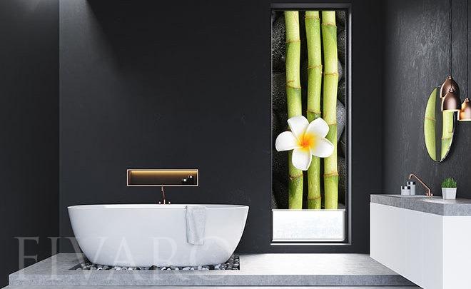 In der im Bambus unterdrückten Magie - Für Badezimmer